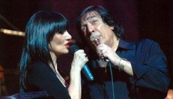 María Jose Demare con Cacho Castaña.