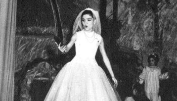 María Jose Demare actuando de niña.