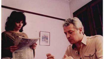 María Jose Demare con Oscar Ferreyro Despues de Ayer.