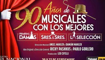 90 años de musicales – Teatro Nacional