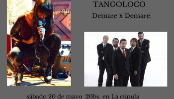 María José Demare  Y Tangoloco  en el CCK