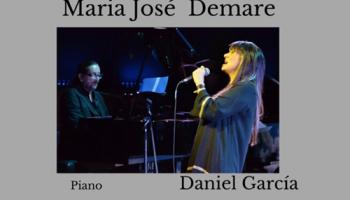 María  José Demare  en recitales de sadaic