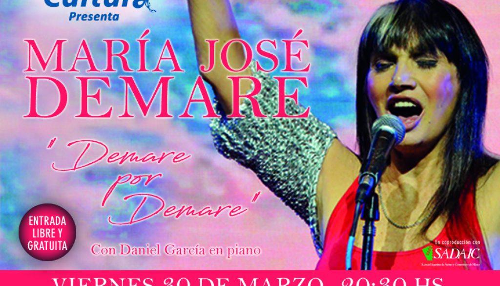 Maria José Denmare  en concierto