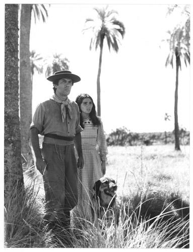 María Jose Demare con Raul Lavie  los gauchos judíos.