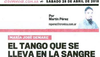 cronica.com.ar : El tango que se lleva en la sangre