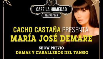 Cacho Castaña presenta María José Demare